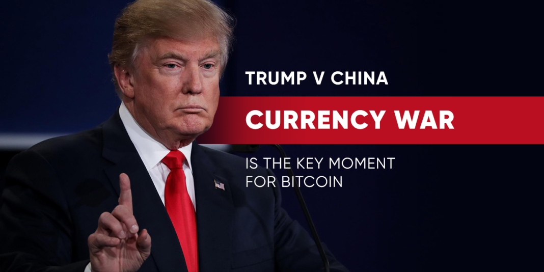 "Commentator Micheal J Casey has said that Trump's China currency barb will create a ""moment to shine"" for Bitcoin in the International economic arena."