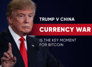 """Commentator Micheal J Casey has said that Trump's China currency barb will create a """"moment to shine"""" for Bitcoin in the International economic arena."""