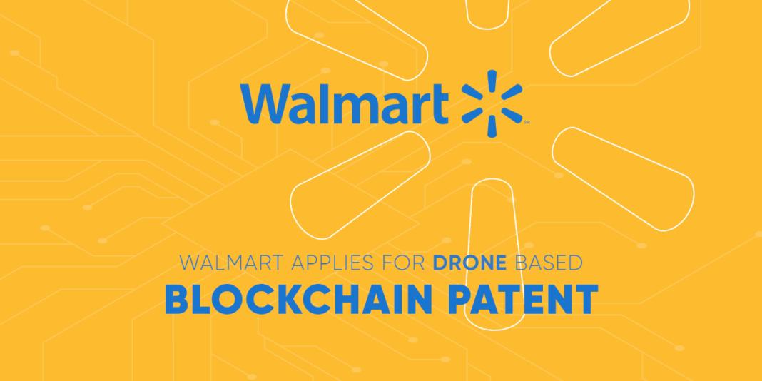 Walmart Drone blockchain