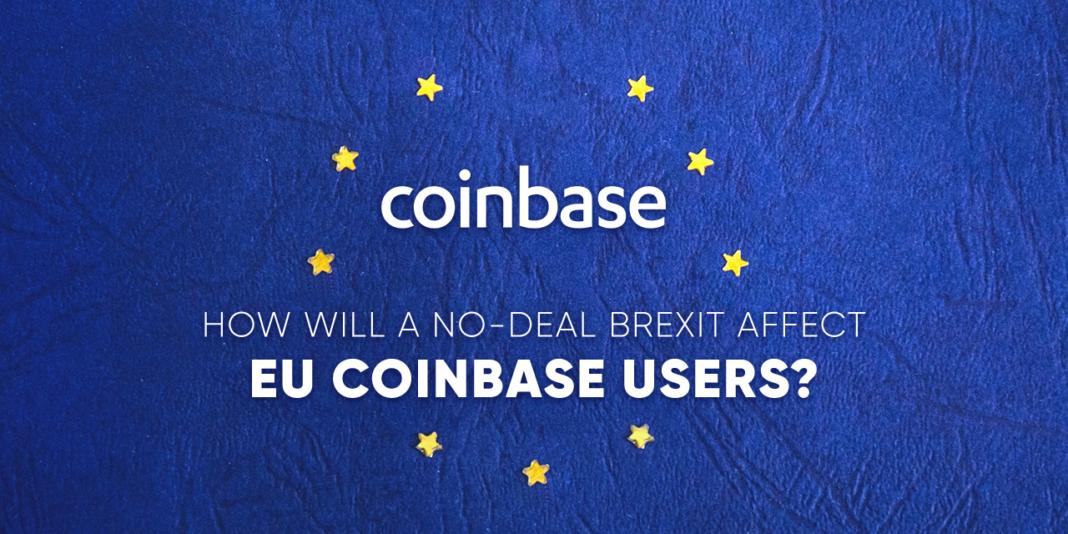 Coinbase EU Brexit