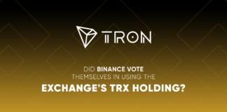 Tron Binance