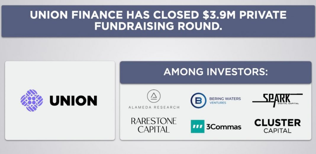 Union or UNN Finance Raises $3.9 million